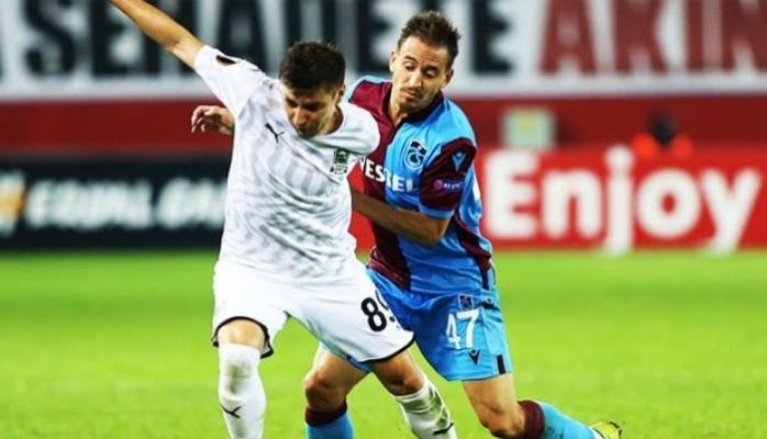 Trabzonspor'un  Avrupa macerası sonra erdi