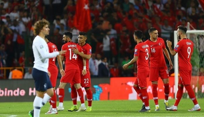 Türkiye 2  - Fransa  0