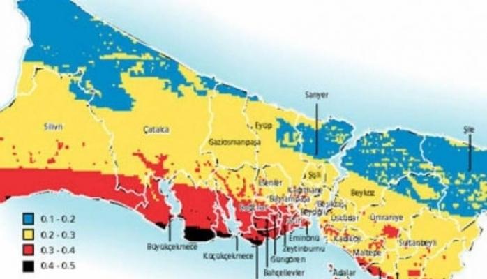 İstanbul için felaket deprem senaryosu