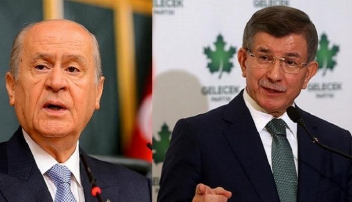 Davutoğlu'ndan Devlet Bahçeli'ye flaş çağrı