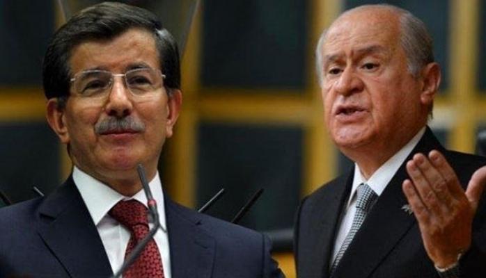 Davutoğlu'dan çok konuşulacak Devlet Bahçeli açıklaması