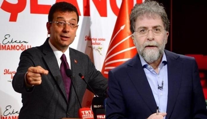 Ahmet Hakan'dan Ekrem İmamoğlu itirafı