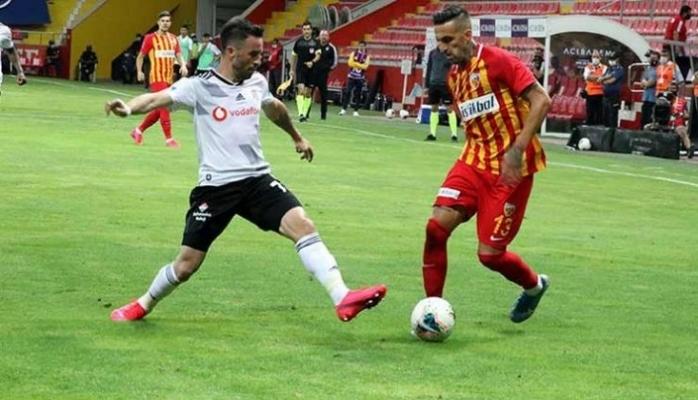 Kayserispor - Beşiktaş maç sonucu: 3-1