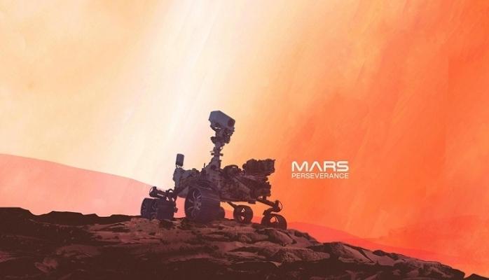 NASA'nın Aracı Perseverance Mars'a İndi