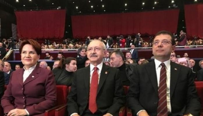 Kılıçdaroğlu, Akşener ve İmamoğlu arasında görüşme trafiği