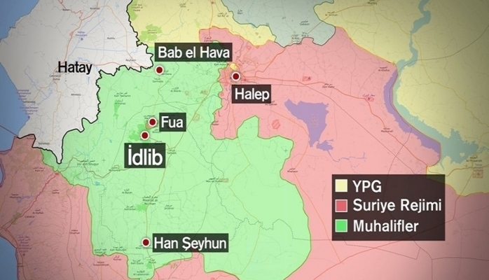 İdlib'te tansiyon yüksek!