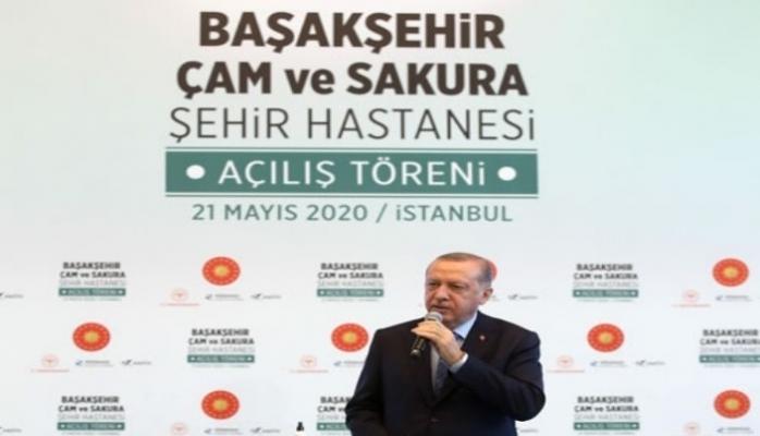 Erdoğan'dan hastane açılışında önemli açıklamalar!