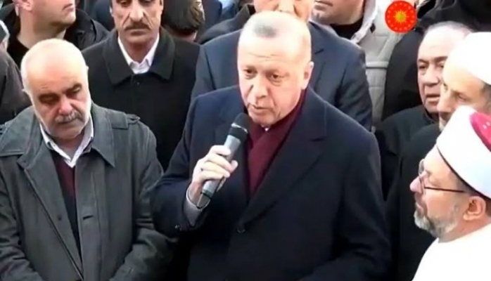 Erdoğan'dan deprem bölgesinde önemli açıklamalar!