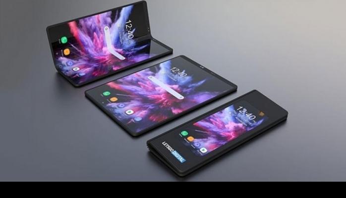 Samsung'dan bir katlanabilir telefon daha