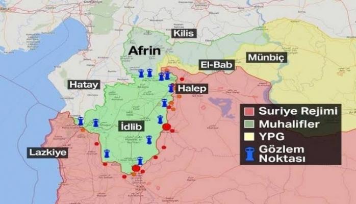 Türkiye, Suriye'yi havadan ve karadan vuruyor