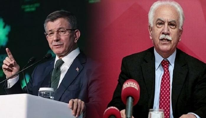 Perinçek ile Ahmet Davutoğlu arasında büyük kavga
