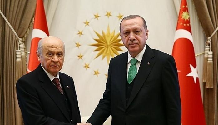 Erdoğan'dan kulisleri sallayan MHP lideri Bahçeli ziyareti!