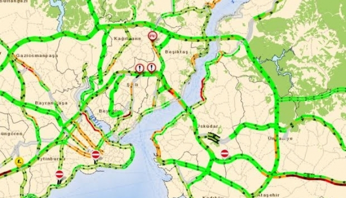 Okullar bugün açıldı, trafik yoğunluğu yaşandı!