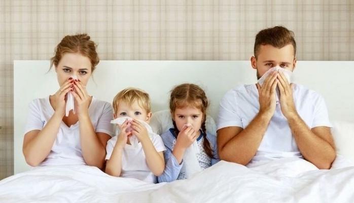 Maskeler çıktı, grip vakaları arttı