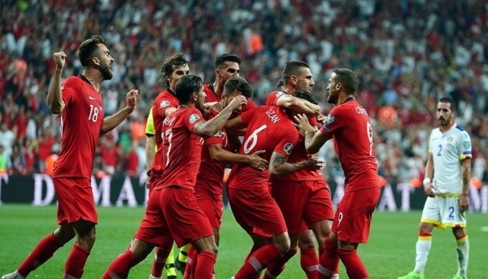Moldova : 0 - Türkiye : 4