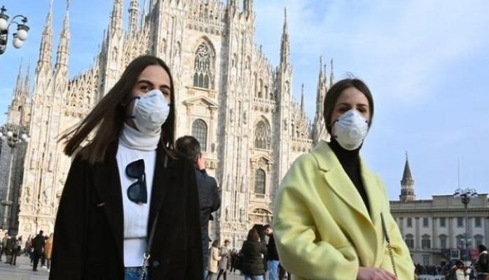 İtalya'da Son 24 saatte 743 kişi daha öldü