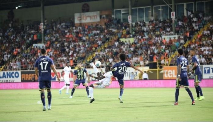 Alanyaspor : 3 - Fenerbahçe : 1