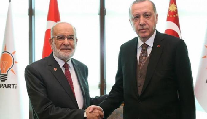 Selvi açıkladı! İşte Karamollaoğlu ile Erdoğan zirvesinde konuşulanlar