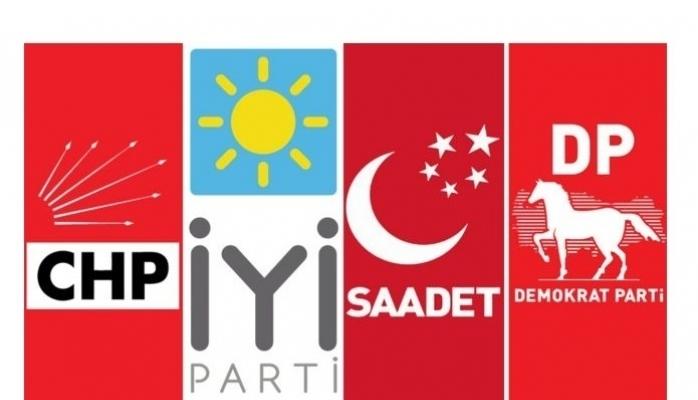 4 parti anlaştı, Millet İttifakı'na katılacak olan partiler