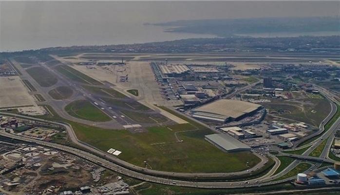 Atatürk Havalimanı'nın Boş Hali Havadan Görüntülendi VİDEO