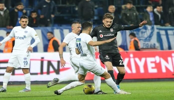 Kasımpaşa : 2 - Beşiktaş : 3