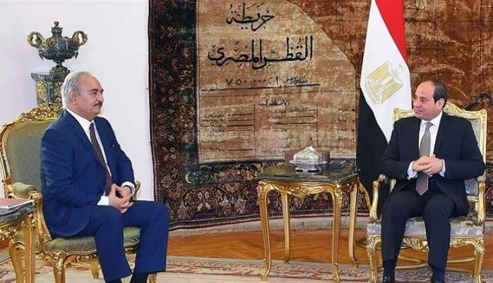 Mısır Devlet Başkanı Sisi Hafter'i Türkiye İçin bırakıyor...