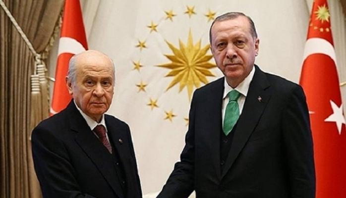 Erdoğan'ın jestine MHP lideri Bahçeli'den jest!