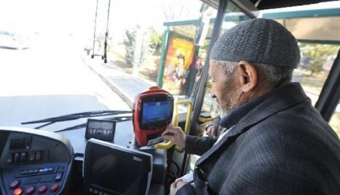 Yeni Düzenleme yolda. 60 ve 65 yaş üstü vatandaşlar bilet parası ödeyecek