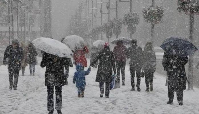 Meteoroloji uyardı! Yoğun kar ve kuvvetli yağmur geliyor
