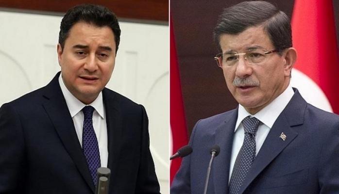 Davutoğlu Ve Babacan'dan ortak açıklama