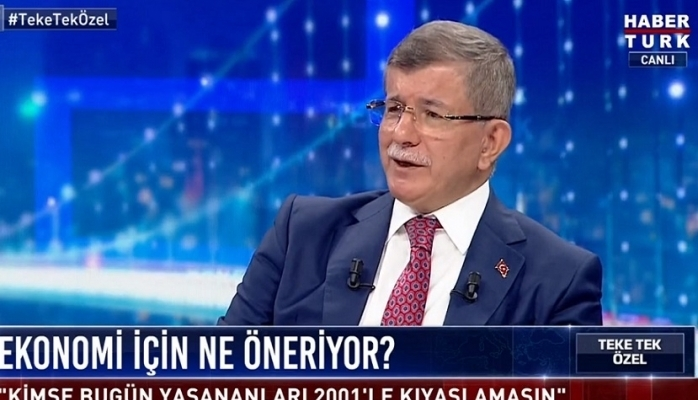 Davutoğlu'ndan Erdoğan'a çok sert sözler...