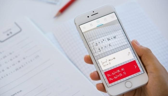 Telefon kamerası matematik sorusu çözecek