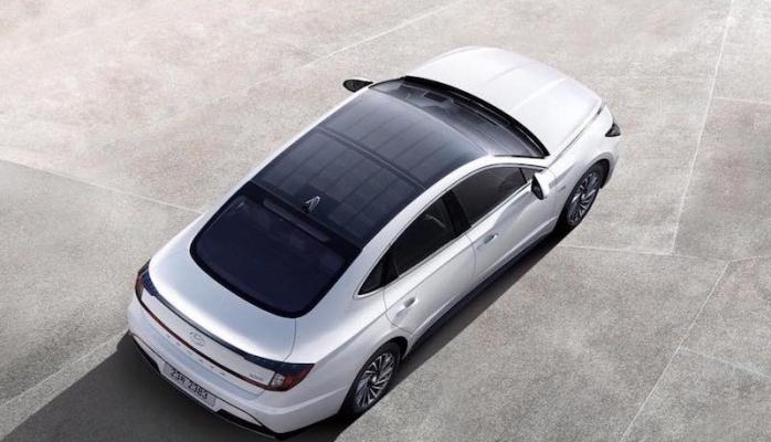 Güneş enerjili Hyundai Sonata tam not aldı!