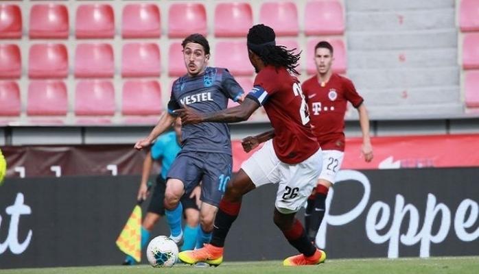Sparta Prag - Trabzonspor maç sonucu: 2-2