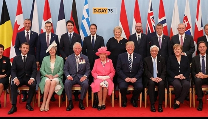 Liderler yıl dönümünde buluştu!
